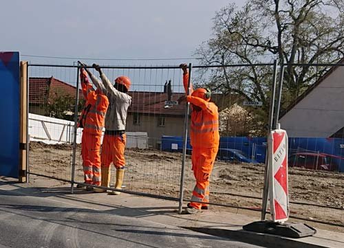 Construction works in Switzerland - Persometrics